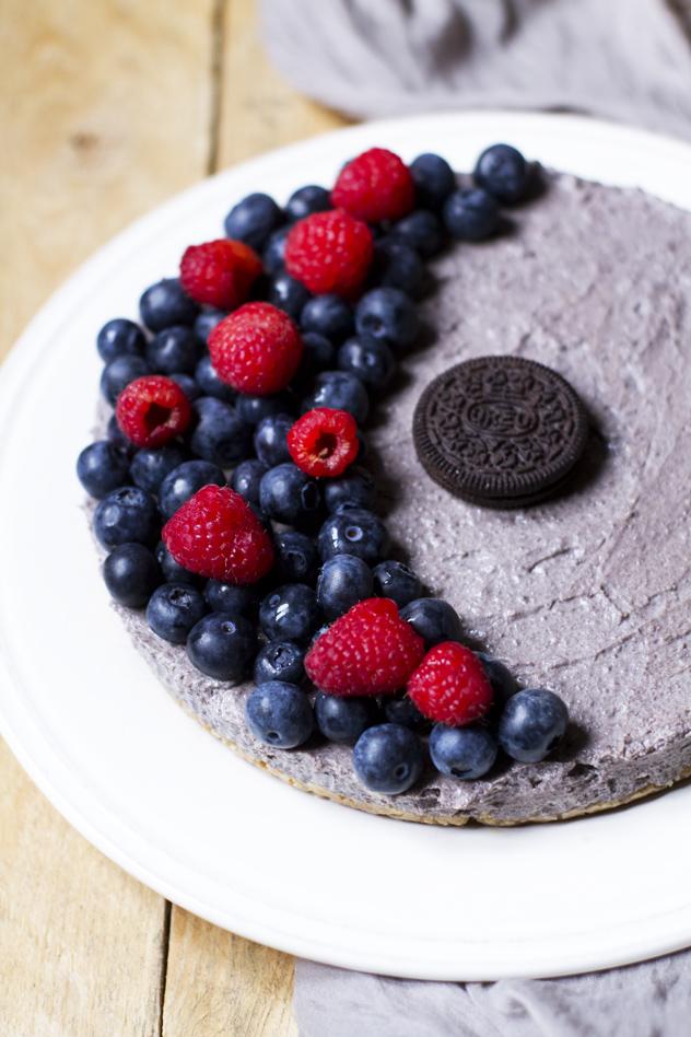 Cheesecake fredda agli oreo e frutti di bosco_03