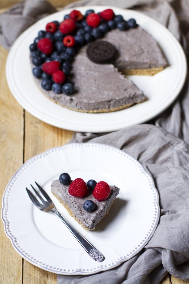 Cheesecake fredda agli oreo e frutti di bosco_05