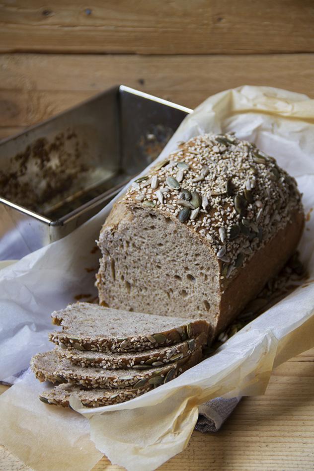 Pane con farina di miglio, quinoa e amaranto_03