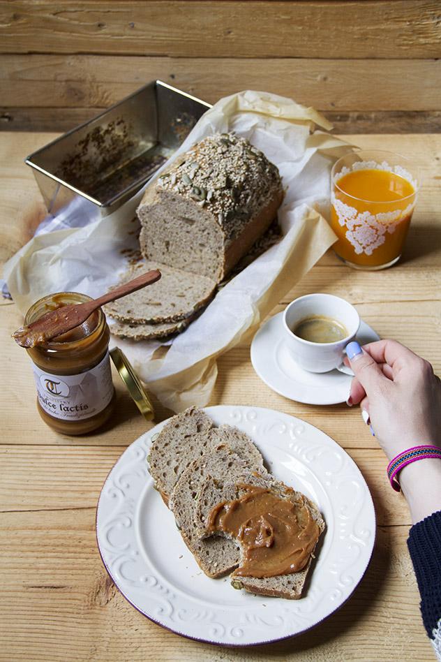 Pane con farina di miglio, quinoa e amaranto_07