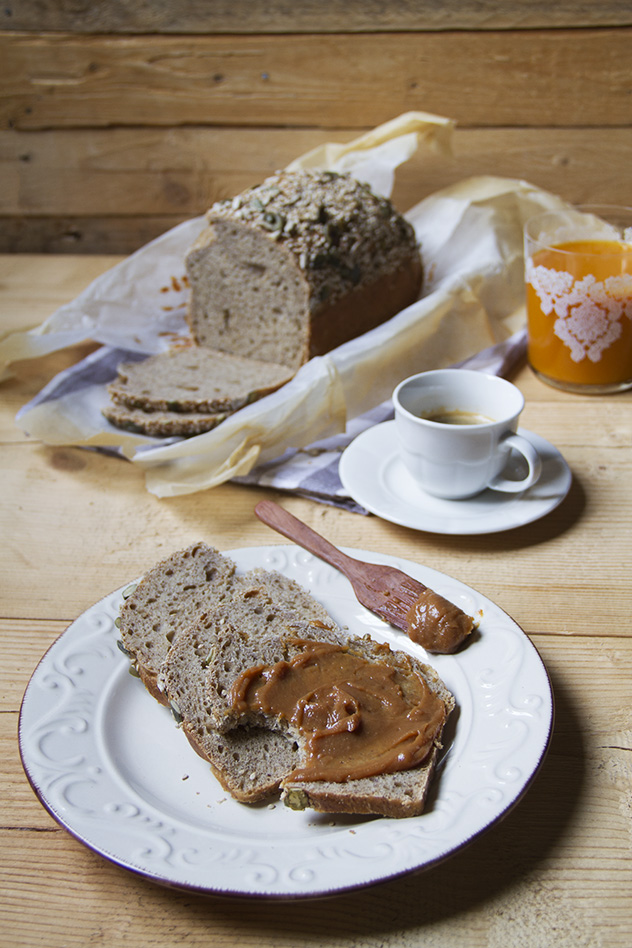 Pane con farina di miglio, quinoa e amaranto_08
