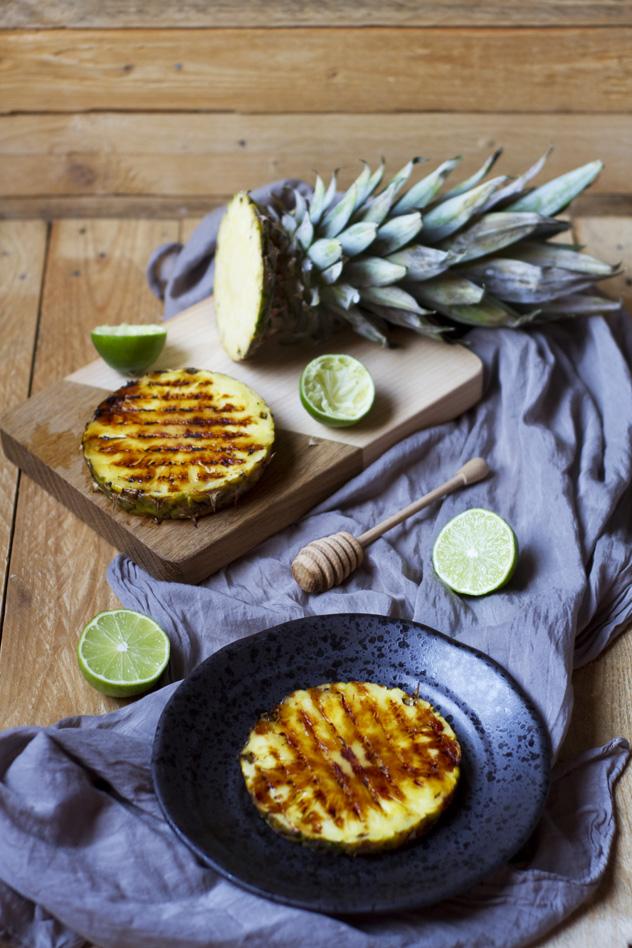 Ananas grigliato con gelato al cocco_04