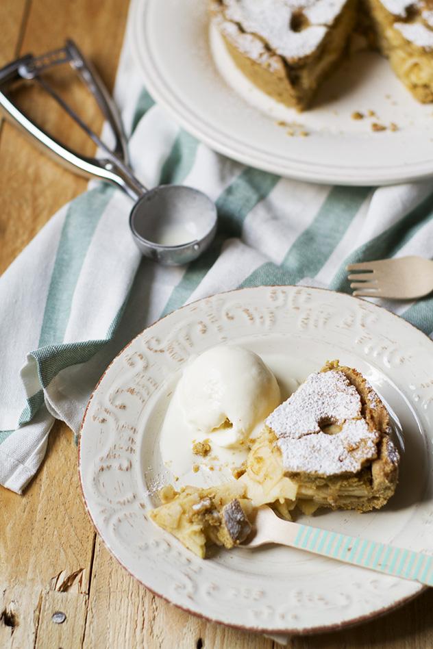 torta di mele gluten lactose free_010