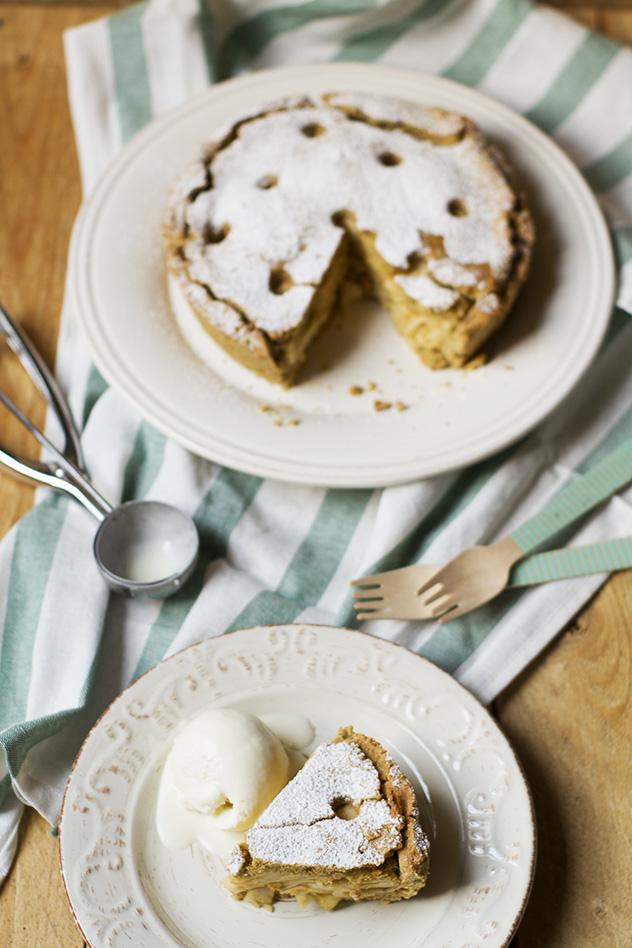 torta di mele gluten lactose free_09