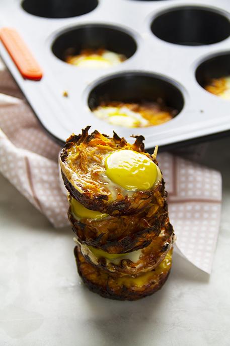 tortini di patate dolci