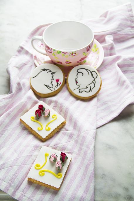 biscotti la bella e la bestia
