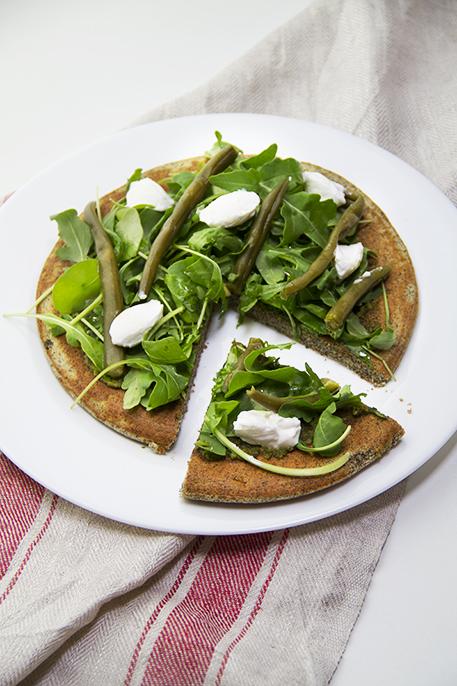 Pancakes salati green