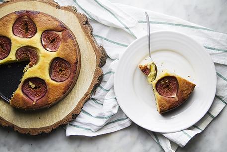 torta ai fichi senza glutine