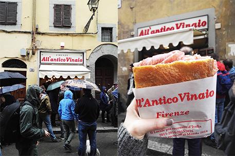 firenze in 2 giorni: antico vinaio