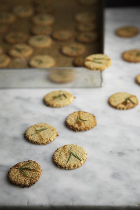 Biscotti salati allo Stilton e miele