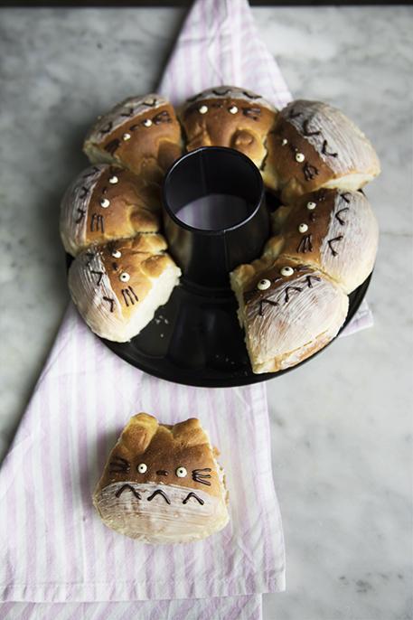 Panini dolci morbidissimi [Totoro bread]