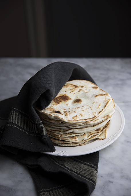 Tortillas di farina: ricetta base