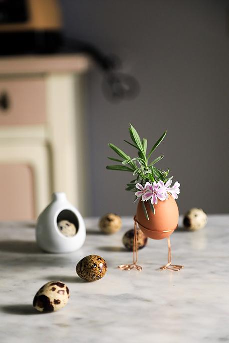 decorazioni di pasqua: il porta uovo