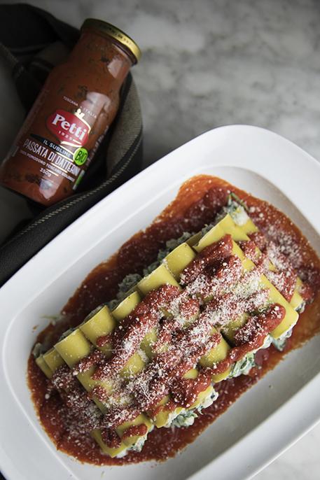 Pasta al forno con melanzane e friarielli
