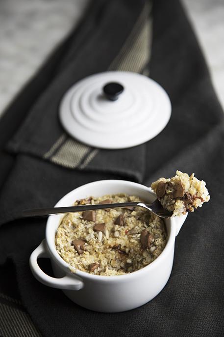 Idee colazione: oatmeal al forno (buono e sano)