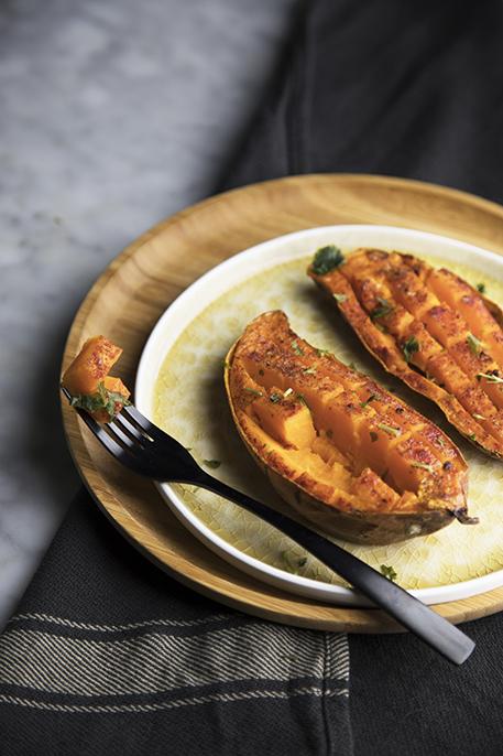 patate dolci al forno speziate