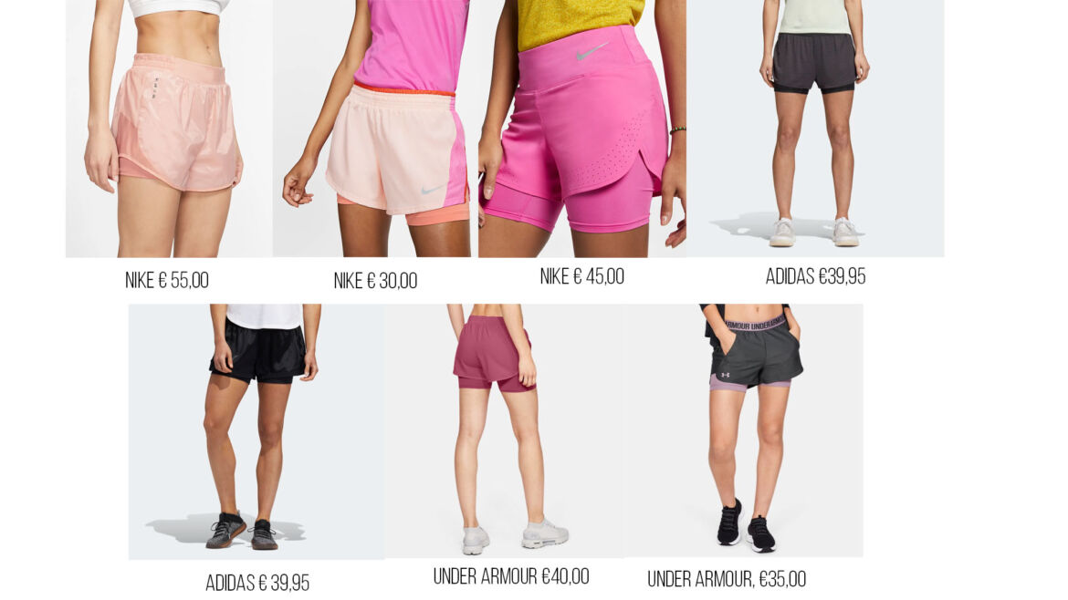 Allenarsi d'estate - shorts