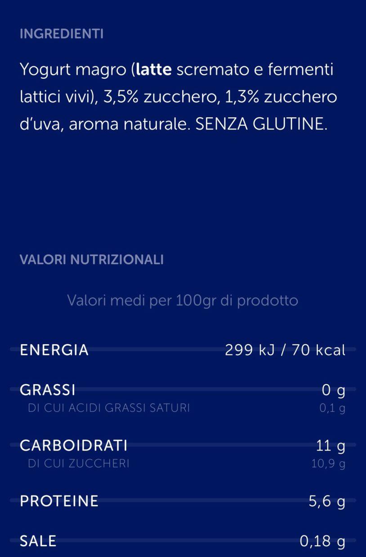 """Alimenti light e """"senza"""" (di tutto e di più): cosa mangiamo? - yogurt magro"""
