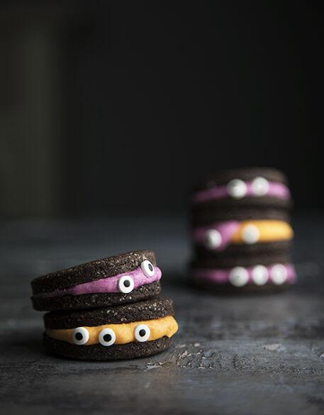 Biscotti per halloween: i biscomostri