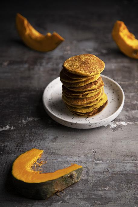 Pancakes alla zucca senza glutine