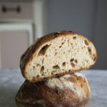 Pane con licoli fatto in casa