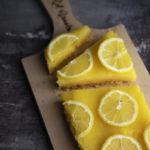 Torta veloce al limone e biscotti