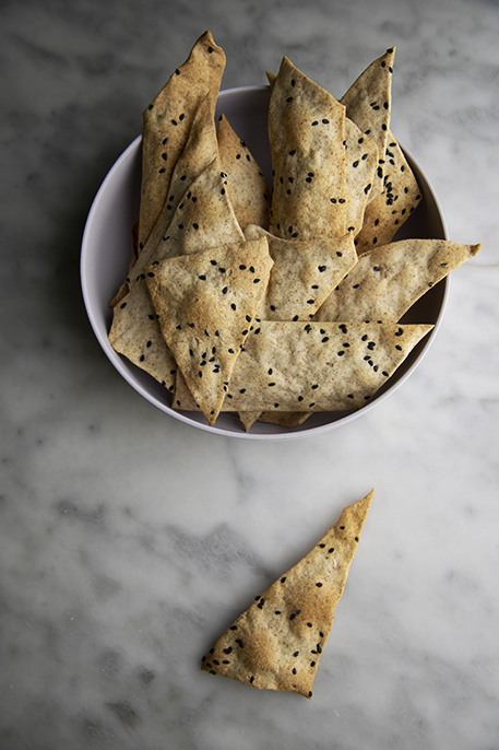 cracker senza lievito