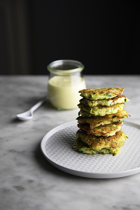 Frittelle di zucchine pronte in 20 minuti