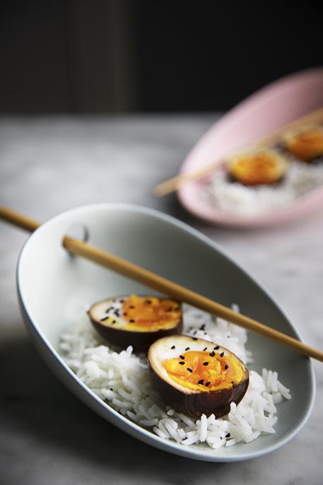 Uova alla salsa di soia
