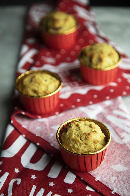 muffin di natale speziati